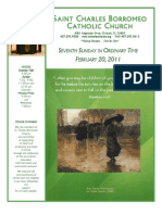 February 20, 2011 Bulletin