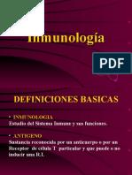 INMUNOLOGIA. DEF. BASICAS (1)