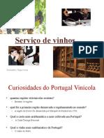 Serviço de vinhos UFCD 3337