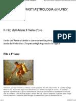 Il mito dell'Ariete_Il Vello d'oro – ASTRI E CONTRASTI ASTROLOGIA di NUNZY CONTI