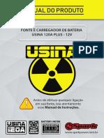 MANUAL_FONTE_USINA 120A - 12V - BAT METER