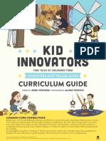 Kid Innovators Curriculum Guide