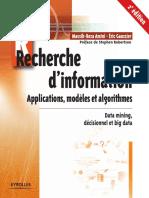 Recherche d'Information Algorithmes