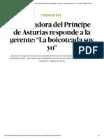 """Coronavirus _ Trabajadora del Príncipe de Asturias responde a la gerente_ """"La boicoteada soy yo"""" - El Salto - Edición General"""