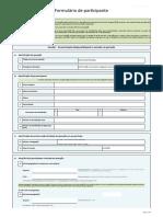 Anexo I - Formulário