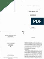 La Soberania - Bertrand de Jouvenel_text
