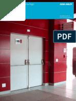 Catálogo Portas Corta-Fogo INDUSTRIAL