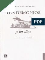 Bonifaz Nuño - Los Demonios y Los Días
