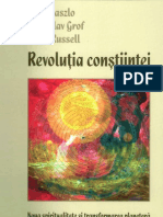 Ervin Laszlo Stanislav Grof Peter Russell Revolutia Constiintei