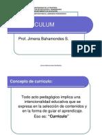 concepto de currículo