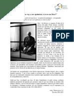 Artículo Recordando al Padre Arrupe
