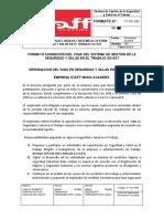 FT-SST-006 Formato Asignación VIGIA del SG-SST