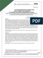 Correa, Elisa Cristina Delfini - de Formação e Desenvolvimento de Coleções Para Gestão de Estoques de Informação - Um Panorama Da Mudança Terminológica No Brasil