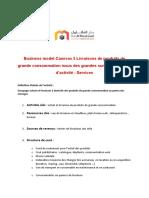 Business Model Canevas 5 Services