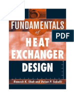 fundamental of heat exchanger design