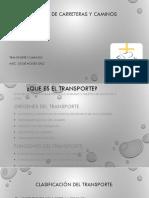 Transporte y caminos