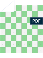 Tabuleiro xadrez marcado