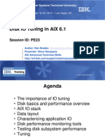 Disk IO Tuning in AIX 6.1