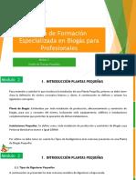 DOCUMENTO - CURSO DE FORMACIÓN ESPECIALIZADA EN BIOGÁS PARA PROFESIONALES - MÓDULO 2 - DISEÑO DE PLANTAS PEQUEÑAS - BIOGÁS CHILE