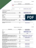 Catalogue Analyses Courantes 18-10-2017