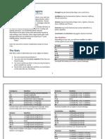 Basic DnD Custom Reference Sheet v.4