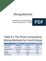 Mixing Methods PB 121