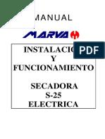 26. MARVA-MANUAL-SECADORA-instalacionyfuncionamientoS25-electrica-nuevaversion