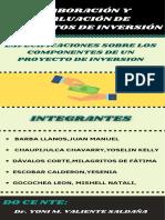 ESPECIFICACIONES SOBRE LOS COMPONENTES DE UN PROYECTO DE INVERSION (1)
