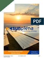 Orçamento Energia solar