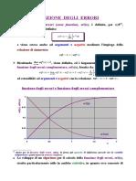 Funzioni Degli Errori e Di Ripartizione Gaussiana