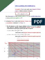 Funzioni Gamma e Beta Incomplete