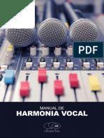 Manual de Harmonia Vocal - Por Fabio Vaz