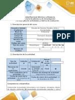 7 Guía de actividades y rúbrica de evaluación - Fase 5 - Trabajo Colaborativo Final