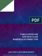 VARIACIONES DE EFICIENCIA DE MATERIALES DIRECTOS.pptx zaina