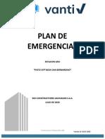 PLAN DE EMRGENCIAS CHEVRON