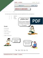 1er. Año - ALG - Guía 2 - Signos de Agrupación (1)