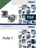 EAD Mahle Motor VW EA211 3 Cilindros Material de Apoio Mdulo Desmontagem