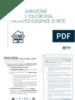 Configurazione Stanza TOLC@CASA Prove Ed Esigenze Di Rete