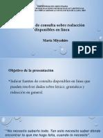 12. Fuentes de consulta para resolver dudas sobre redacción