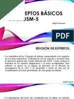 conceptos básicos de el DSM-5