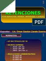 RETENCIONES 2012