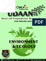OnlyIAS UDAAN Environment & Ecology Quick and Comprehensive Revision
