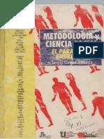 Metodología y ciencia social - Sergio Quiroz Miranda