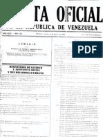 Gaceta 4103-89 Normas Sanitarias Urbanismos