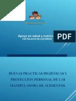 DIAPOSITIVAS  BUENAS PRACTICAS DE HIGIENES
