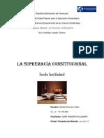 Supremacía Constitucional Venezolana