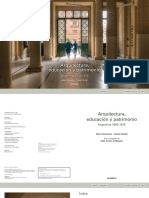 Arquitectura Educacion y Patrimonio 0