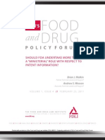 FDLI Policy Forum Vol 1, Issue 4
