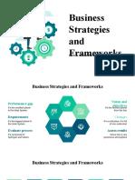 Business Strategies and Frameworks by Slidesgo