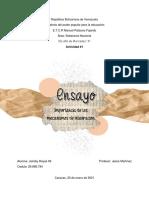 Ensayo - Soberania nacional